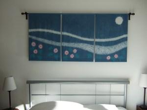Landscape bedhead panels 140 x 60cm