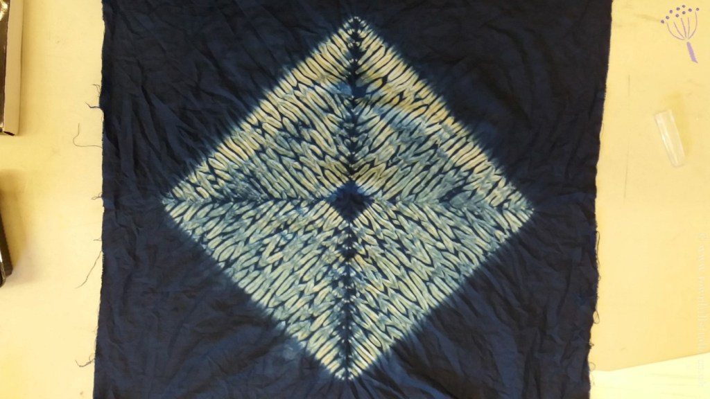 Gabys diamond shibori pattern