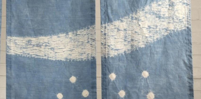 5 Japanese Noren (door curtain) to inspire your shibori designs