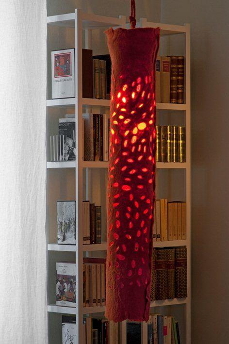 Judith Byberg pendant felt light