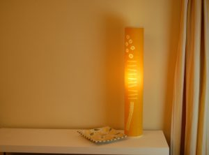 Soft yellow grass lamp 75 x 12.5 cms