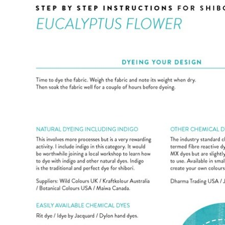 page 9 of shibori eucalyptus pattern