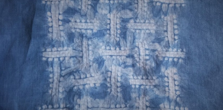 4 Essential Steps to Create a Beautiful Basketweave Shibori Pattern