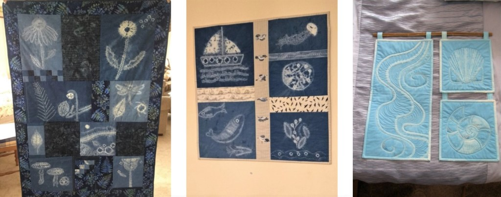 examples of shibori quilts