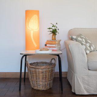 gold teasel lamp