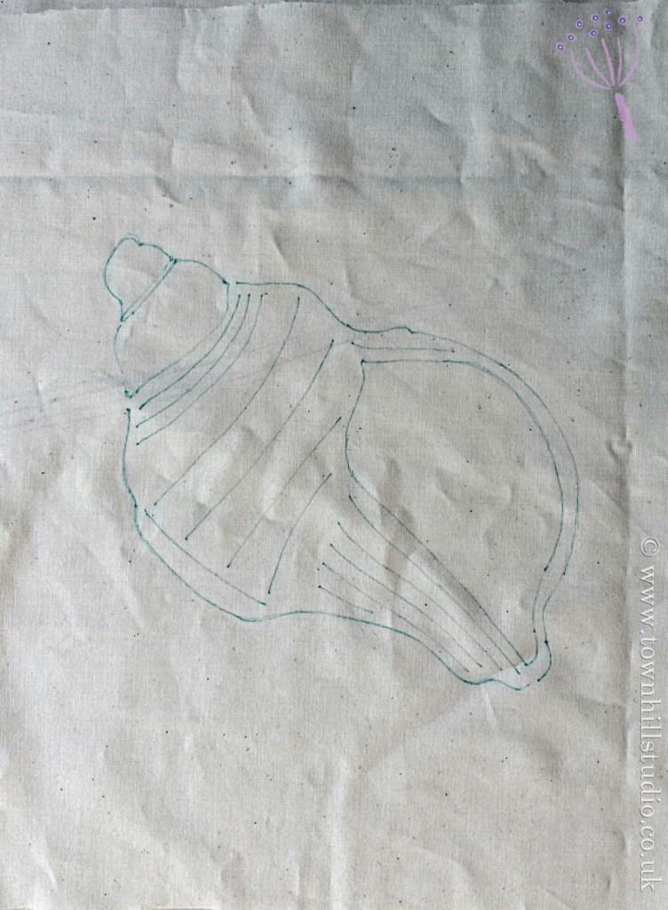 how to make a shibori shell pattern (1)
