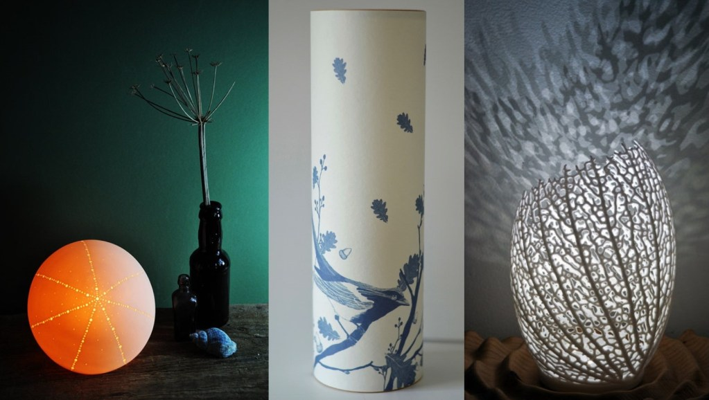 3 designer lamps