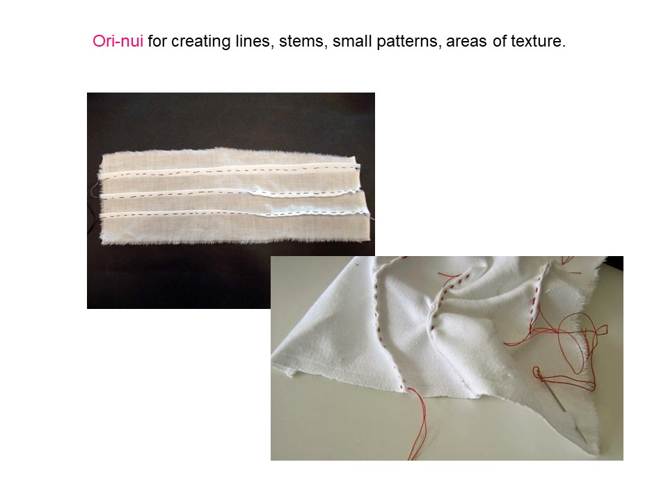 ori nui shibori technique (2)