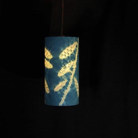 pendant indigo leaves 1