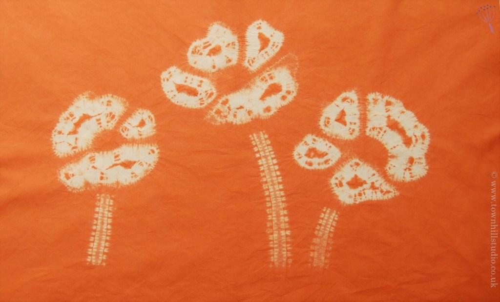 shibori anemone
