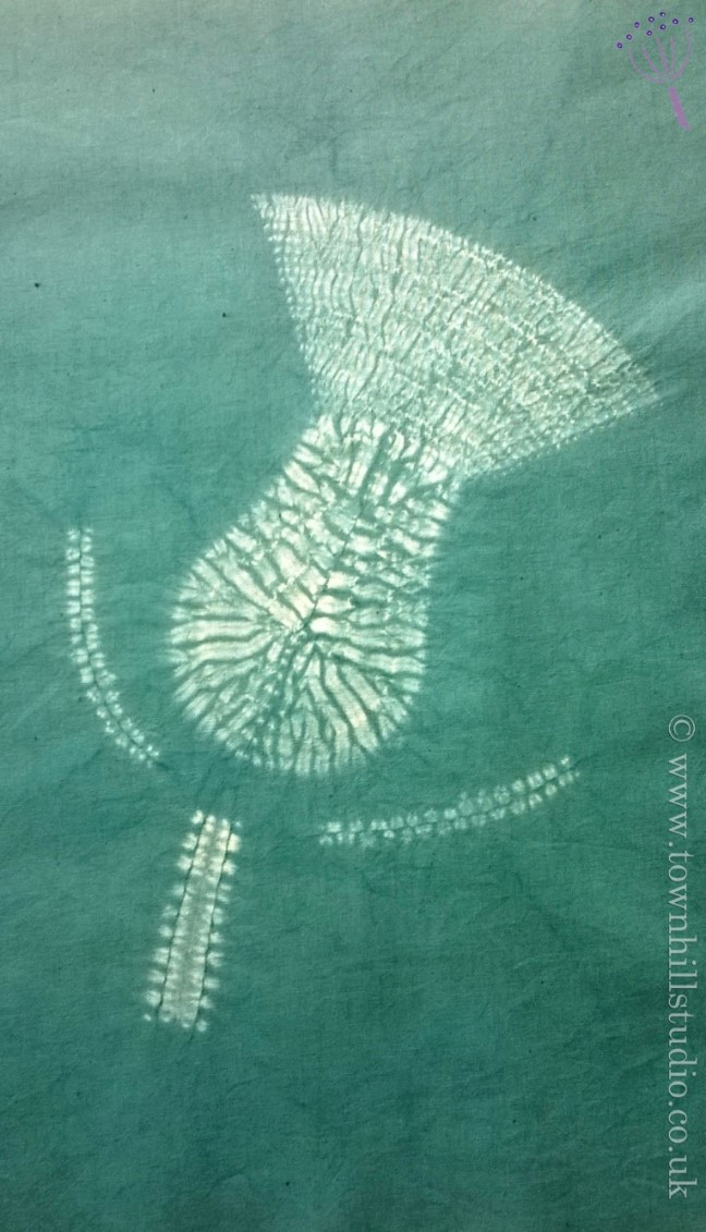 shibori design thistle (2)