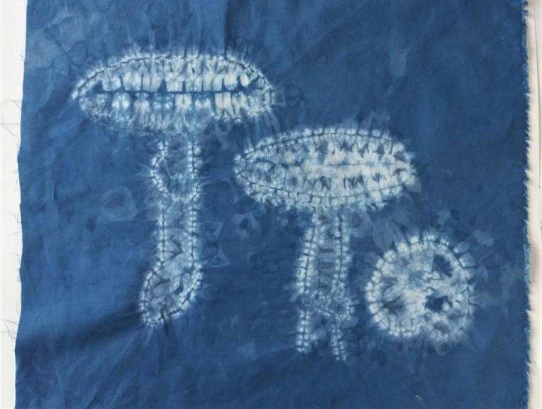 shibori mushrooms