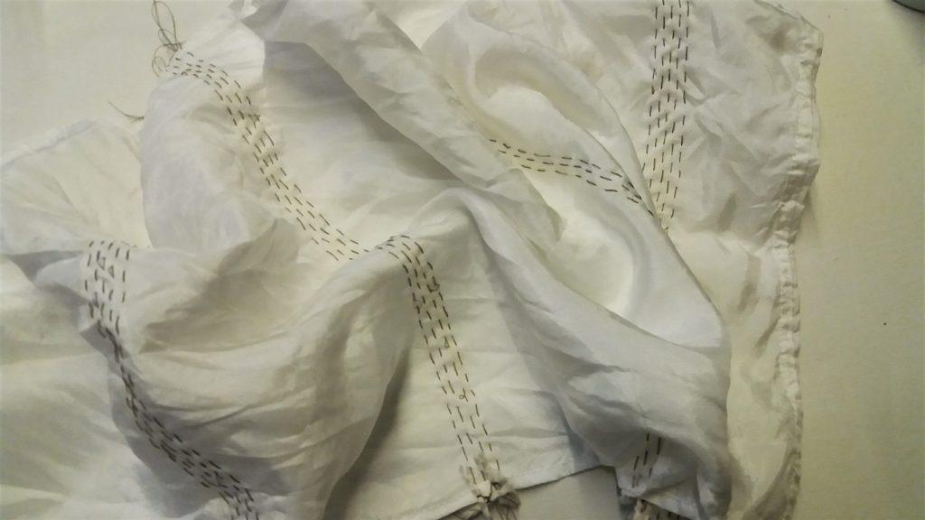 shibori stitch resist scarf (2)