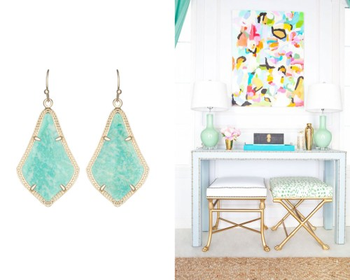 Rocksbox Inspired Design || Town Lifestyle + Design || Jewelry and Fashion is a major inspiration for interior design. See how my latest rocksbox set influenced this home decor.