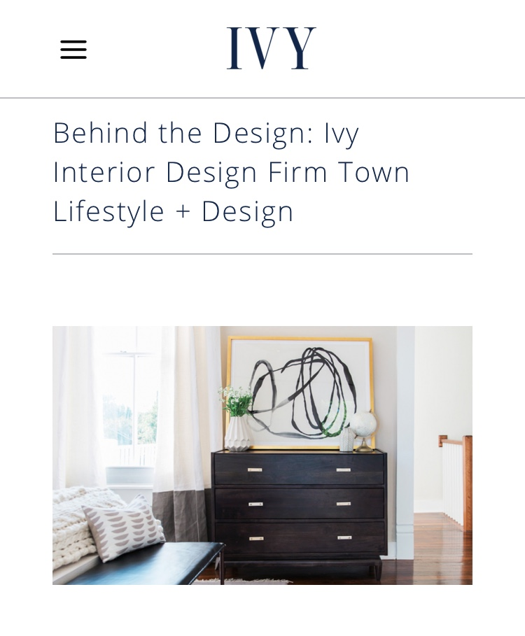 Town Lifestyle and Design | Press | Ivy