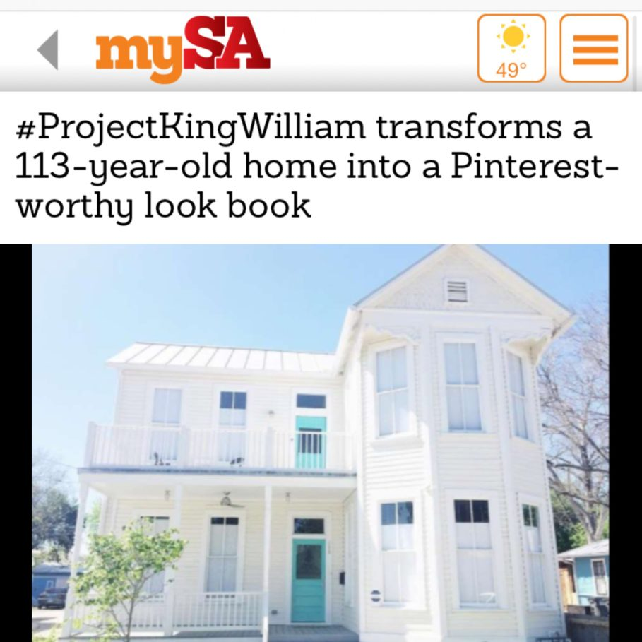 Town Lifestyle and Design | Press | My San Antonio | Project King William
