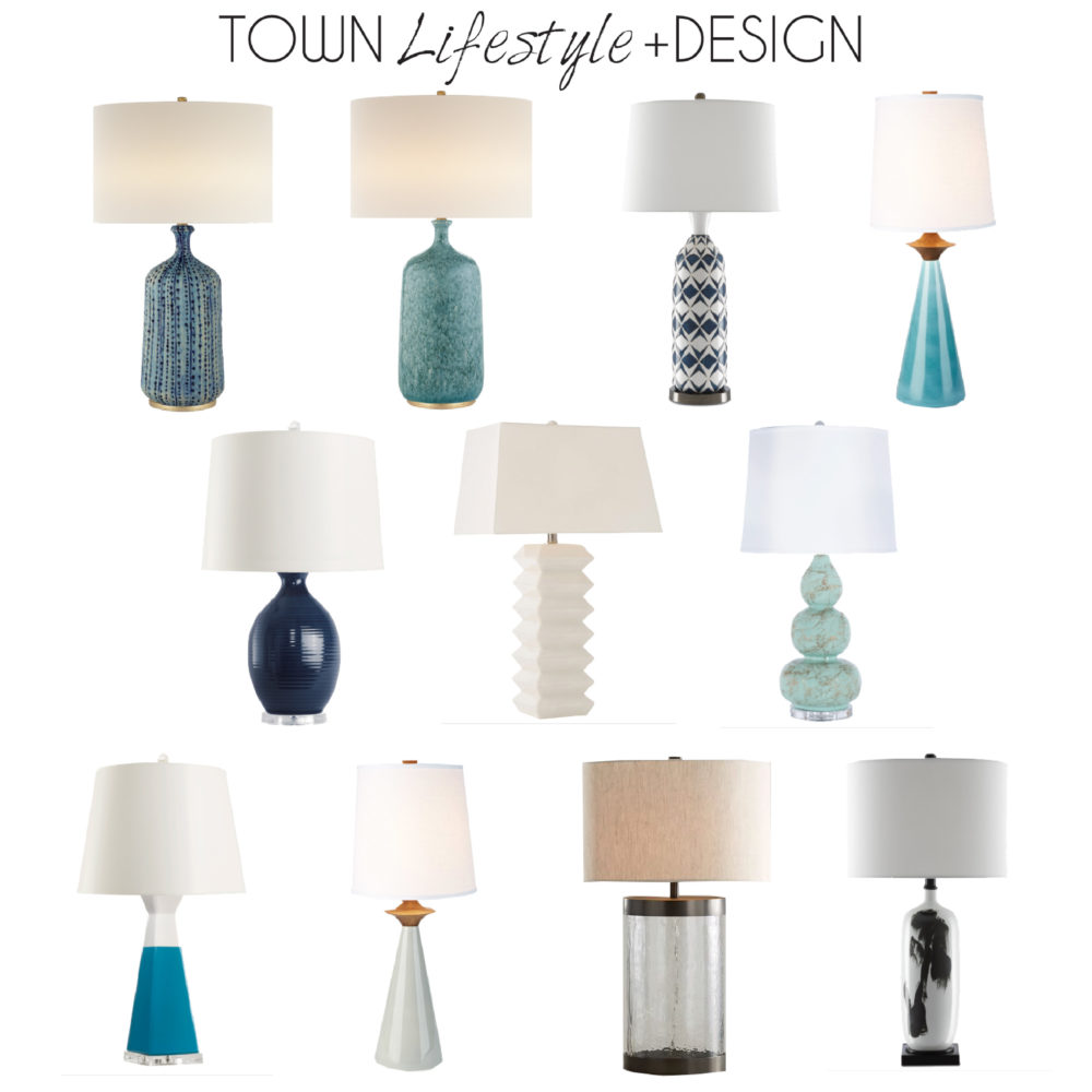 Town Lifestyle and Design || Introducing Project Houston Heights || Table Lamp Options