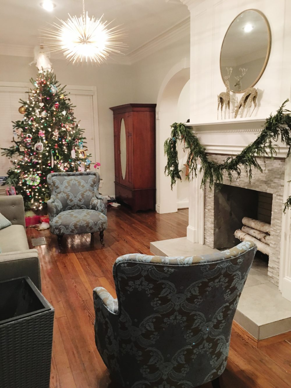 Houston Heights Formal Living Room Before || Town Lifestyle and Design