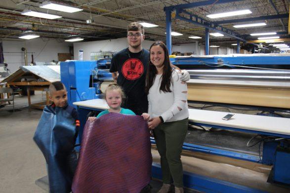 Christopher, Lauren, Zach and Sarah