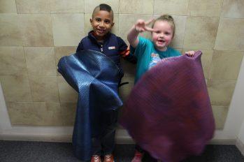 Lauren & Christopher with Hides