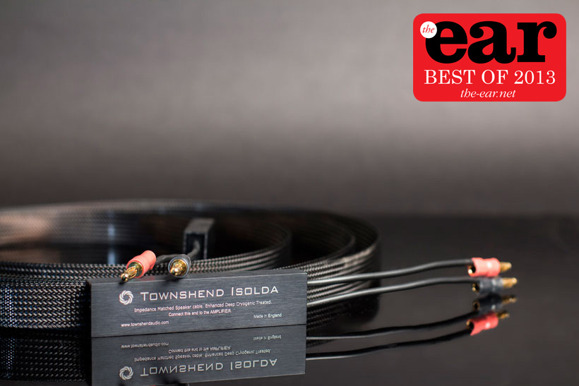 Townshend Isolda cryogenic speaker cable 2013 winner