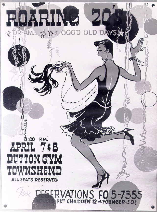 roaring 20s party poster