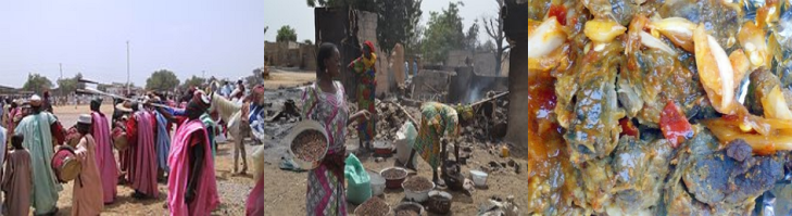 "Sambisa Village which use to be the home base of the most dangerous terrorist attackers in Nigeria popularly called ""Boko Haram"" is located about 14km away from Kawuri village, which is linking Maiduguri-Bama road in the southeast of Maiduguri,"