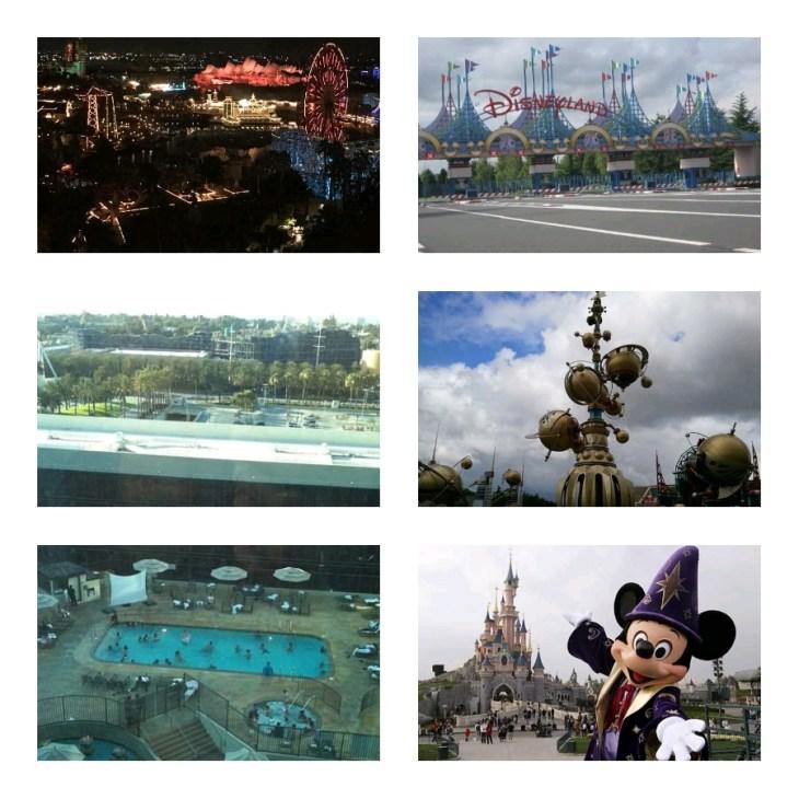 A day in Disneyland