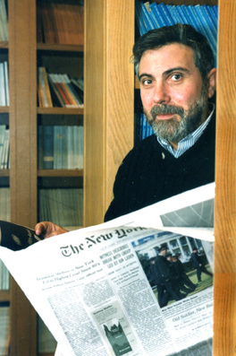 Paul Krugman, Nobel Winner