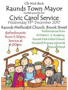 Raunds Mayor's Civic Carol Service @ Raunds Methodist Church | England | United Kingdom