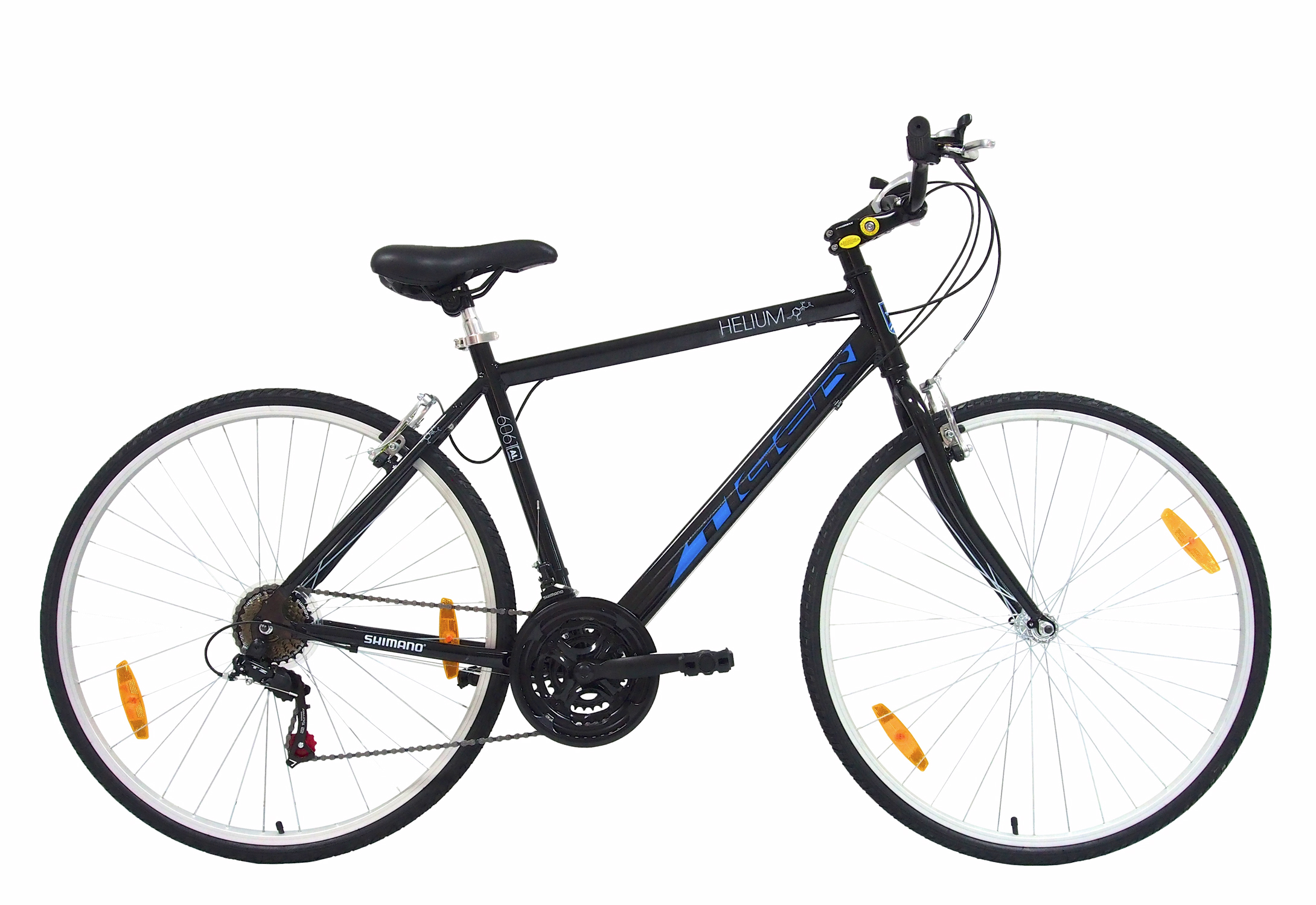 Tiger Helium Gents Hybrid Sports Amp Trekking Bike Alloy Frame