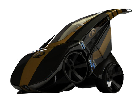 BRB Evolution Folding Car Concept 3