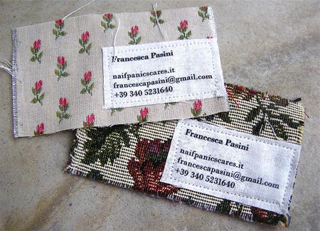 Francesca Pasini Business Card