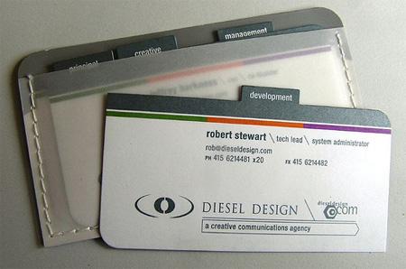 Deisel Design Business Cards