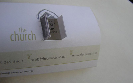 The Church Business Card