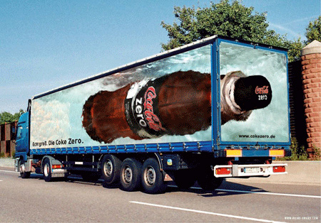 Coca-Cola Truck Advertisement
