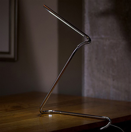 Paperclip Lamp 4