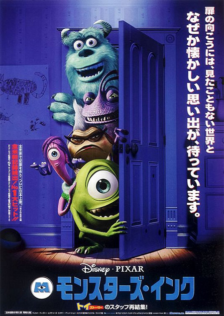 Monsters, Inc. (2001) Poster