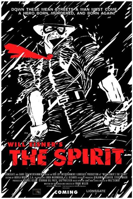 The Spirit (2009) Poster