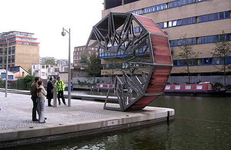 Incredible Rolling Bridge in London