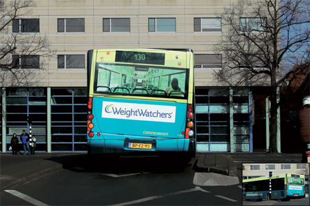 WeightWatchers Bus Advertisement