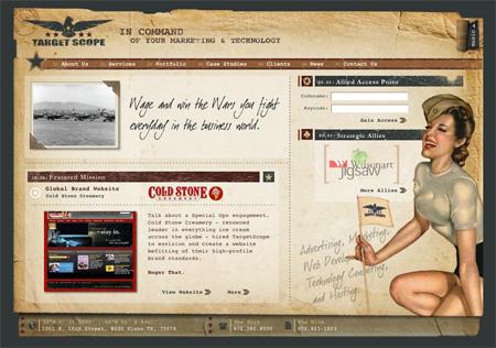 24 Beautiful Flash Website Designs 07