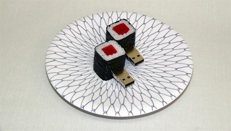Realistic Sushi USB Flash Drives 10