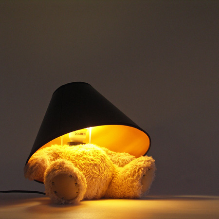 Teddy Bear Lamp by Matthew Kinealy 2
