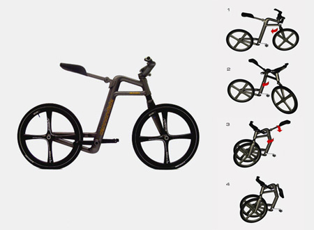 Foldable Urban Bicycle Concept