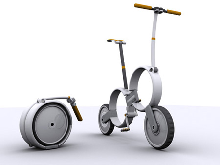 One Folding Bicycle 2