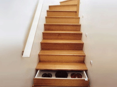 Stairway Drawers