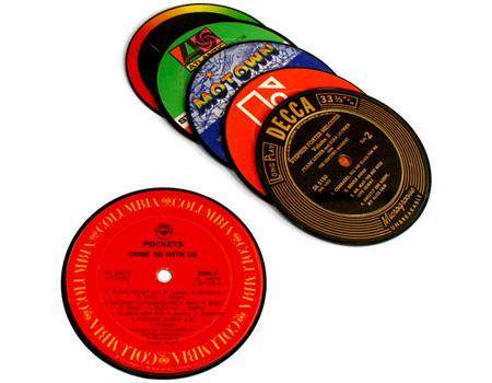 Vintage Record Coasters 2