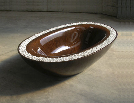 Laguna Pearl Wooden Bathtub