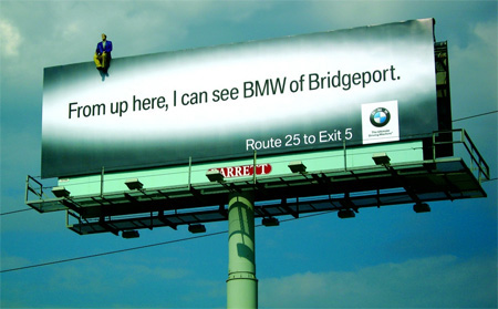 BMW Billboard